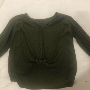 A.N.A button front top